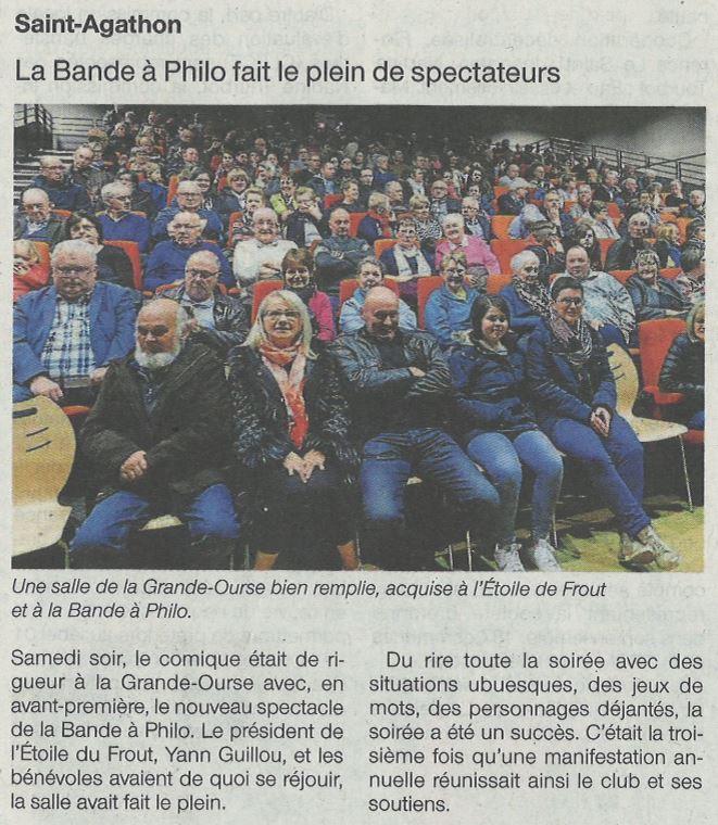 Suite Saint-Agathon Ouest-France 23-02-17
