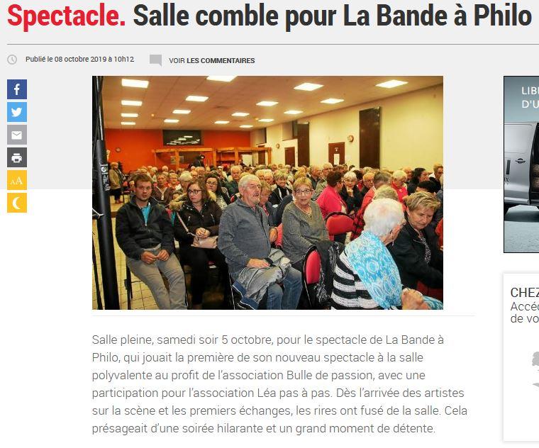 Suite Poullaouen Le Télégramme 08-10-19